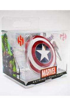 Capitán América llavero metálico