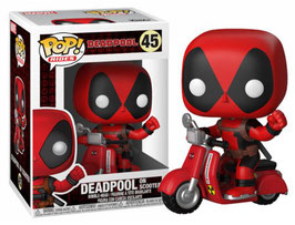 Deadpool en scooter