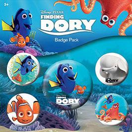 Buscando a Dory Pack 5 Chapas