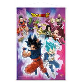 Banderola Dragon Ball Universo 7 Guerreros 70x100