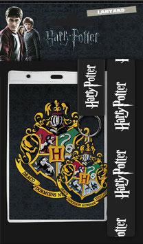 Llavero con Cinta y Llavero de Caucho Hogwarts