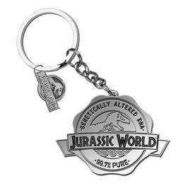 Llavero Metálico Jurassic World