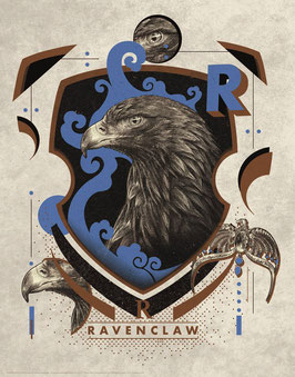 Litografía Ravenclaw 36x28CM