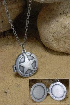 Medallón con Collar El Llanero Solitario