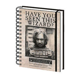 Libreta A5 Wanted Sirius Black