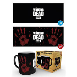 Taza Sensitiva al calor Huella de Mano The Walking Dead