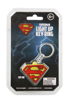 Llavero con Iluminación Logo Superman