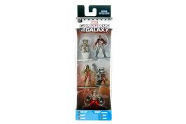 Pack 5 Figuras Metálicas Guardianes de la Galaxia