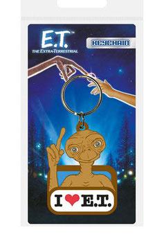 Llavero Caucho E.T. el Extraterrestre I Love