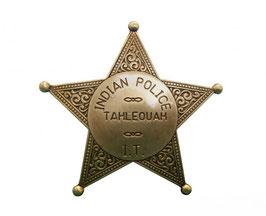 Placa de Polícia India