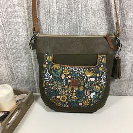 """Handtasche """"Herbstblumen"""""""