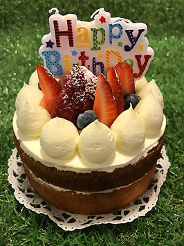 Birthday Cake - Strawberry Short Cake
