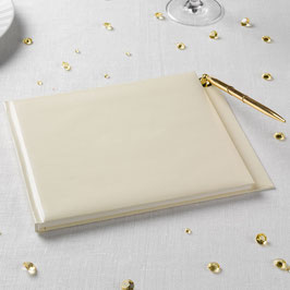 Set Simply Ivory-  Guestbook con penna