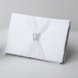 "Guestbook ""Butterfly Satin"""