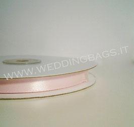 Nastro raso Rosa 10mmx50mt