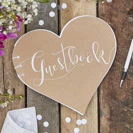 "Guestbook Cuore ""Rustic Country"""