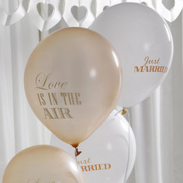 "Palloncini ""Chic Boutique"" Love/Just (8pz)"