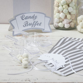 Candy Bar Kit - Silver