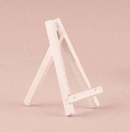 Cavalletto in legno bianco