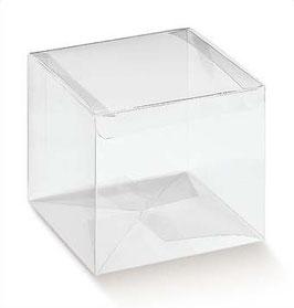 Scatola Cubo PVC 5x5x5cm