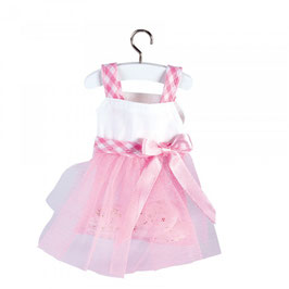 Vestitino ROSA con gonna tulle
