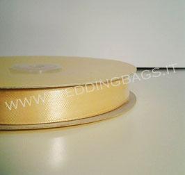 Nastro raso Giallo Oro 15mmx50mt