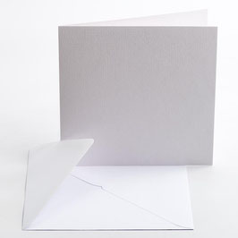 SET PARTECIPAZIONE 10pz - BIANCO LINO (confezione per 10inviti)