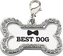 """Medaglietta """"BEST DOG"""""""