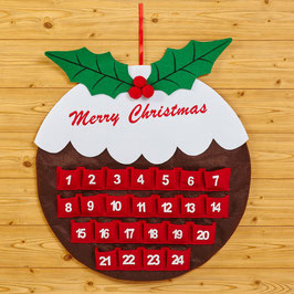 Calendario dell'avvento - Christmas Pudding