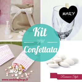 Kit Confettata ROMANCE (7 gusti)