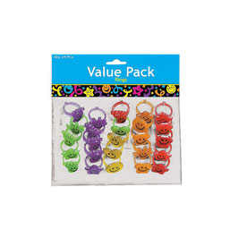 Anello Glitter Smiley (1PZ)