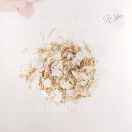 Petali Mix - Ortensie Bianche e petali avorio