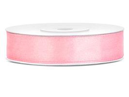 Nastro raso ROSA CHIARO 12mmx25mt