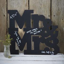 Guestbook Lavagna Mr&Mrs