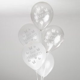 "Palloncini ""Butterfly"" (8pz)"