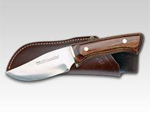 Jagdmesser mit Pakkaholz-Griff