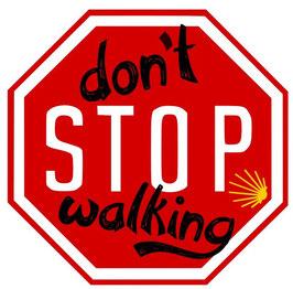 Camino-Sticker
