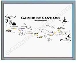 """Camino Möbel-/ Wandtattoo """"Der Weg"""""""