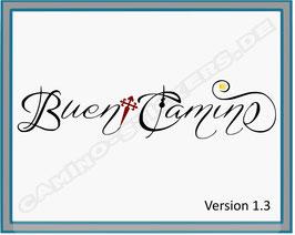 """Camino-Sticker """"Buen Camino"""""""