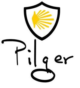 Camino Sticker Pilger, Peregrino