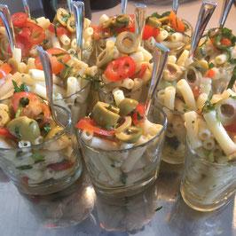 Italienischer Penne-Salat