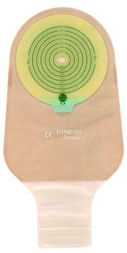 1-delig ileostomiezakje, vlak, zonder ventiel