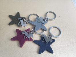 Schlüsselanhänger, Ministáli und Stern