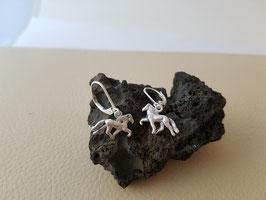 Ohrringe, Tölter 925 Silber