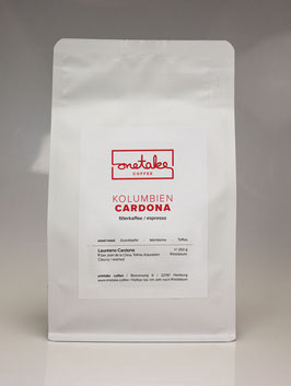 Kolumbien - Cardona Filterkaffee & Espresso