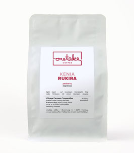 Kenia - Rukira Peaberry Espresso