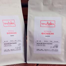 Kenia - Gichichi Espresso