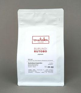 Burundi Rutobo - Espresso
