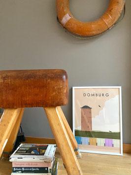 Domburg Wasserturm Premium Poster