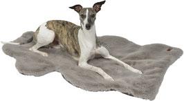 HYGGELAMB veganes Lammfell | Schaffell für Hunde taupe